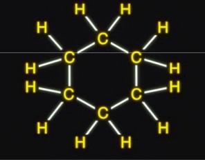 molekul naftena