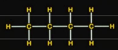 molekul parafina